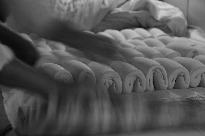 [转载]皖北行·回民枕头馍制作全过程